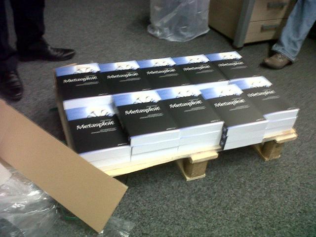 Metasploit Buch ist da :)