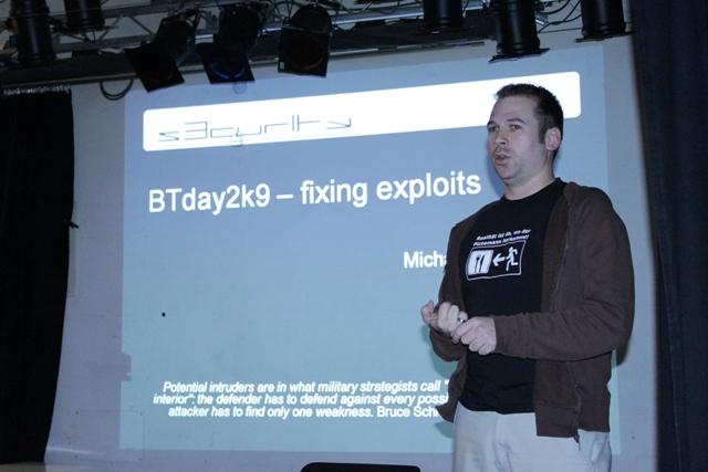 Backtrack Day 2009 - Vortrag m1k3 - 01