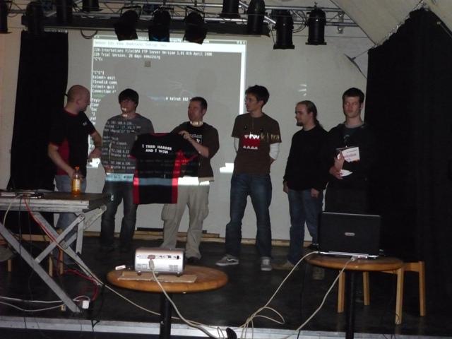 Backtrack Day 2009 - Platz 2 im team