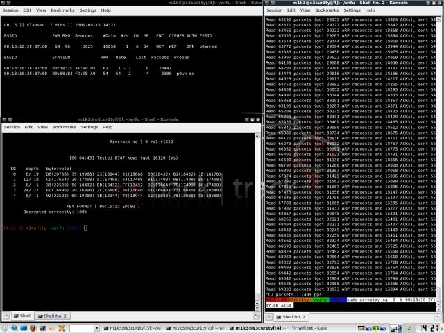WLAN - ARP packet replay