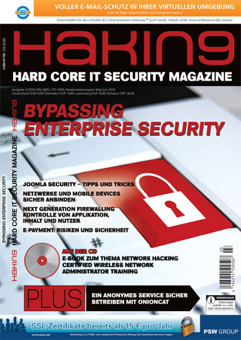 Hakin9 03-2010 Cover