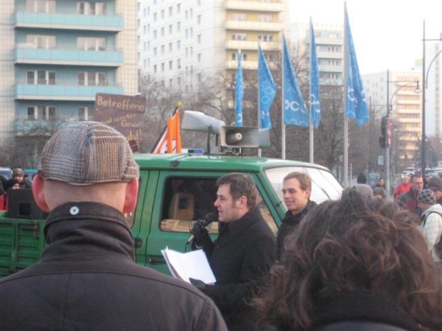 Demo gegen Überwachung, Bundestrojaner, Vorratsdatenspeicherung, ... 05