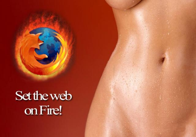 Firefox hot wallpaper