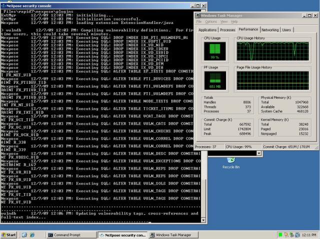 Erster Start von NeXpose auf Windows Server 2003 - 03