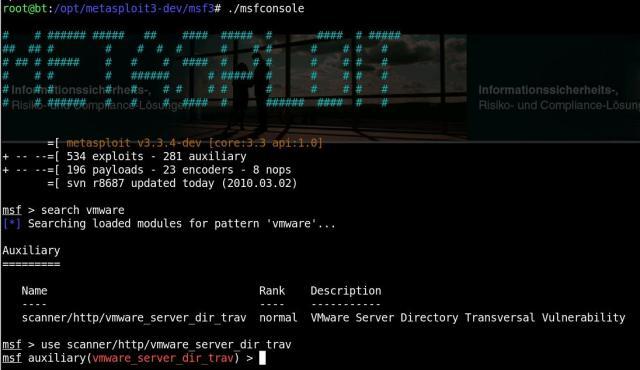 VMWare hacking - 01