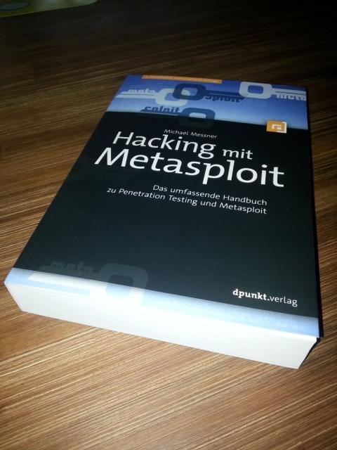 Hacking mit Metasploit - Cover
