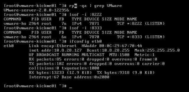 VMWare hacking - 0