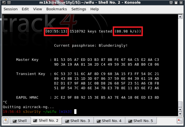 WPA cracking without rainbow tables